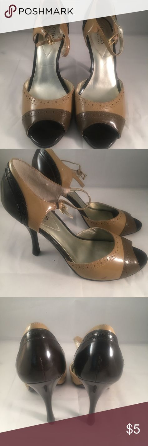 Guess by Marciano Open Toe Pumps 7.5M Guess by Marciano Open Toe Pumps 7.5M Guess by Marciano Shoes Heels