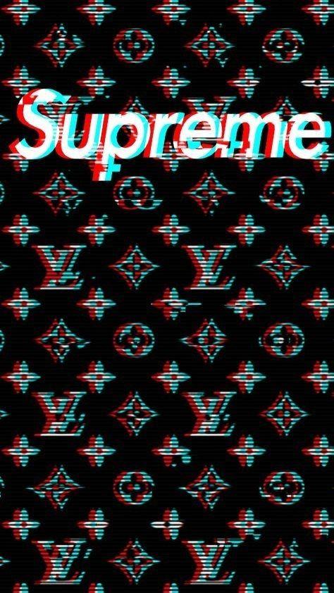 Supreme Louis Votan Supreme Iphone Wallpaper Supreme Wallpaper Gucci Wallpaper Iphone