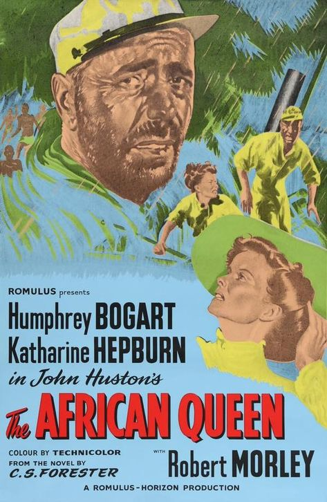 African Queen The Movie Poster 24x36