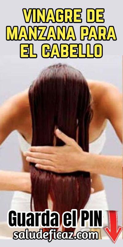 De manzana el para vinagre cabello y manzanilla