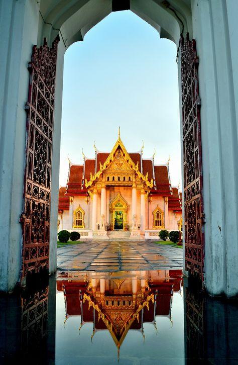 Marble Temple, Bangkok, Thailand. #WesternUnion