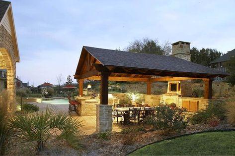 150 outdoor pavilion lighting ideas in