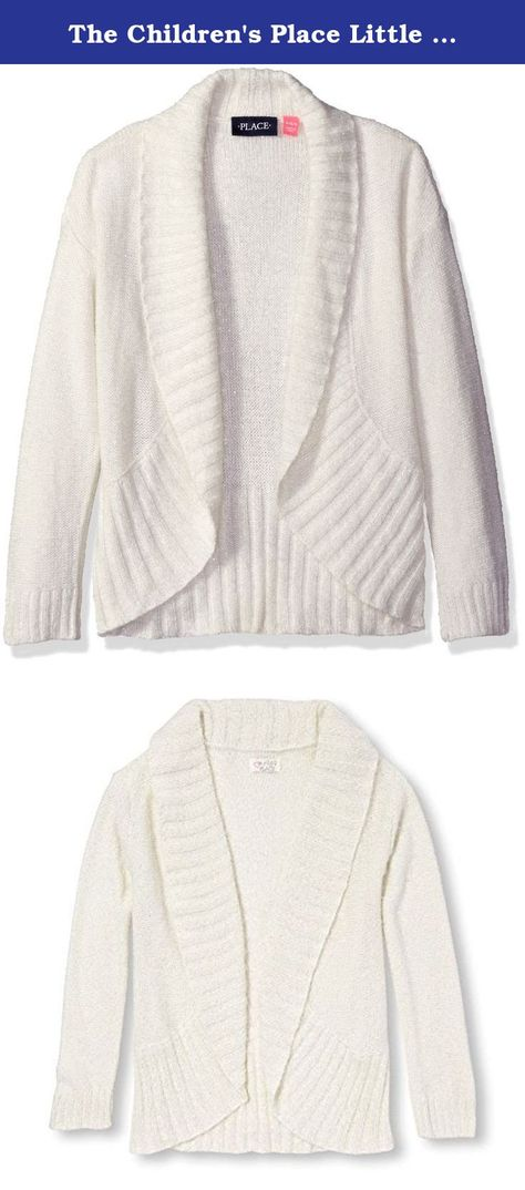 b2e1e2e8d57 The Children s Place Little Girls  Eyelash Cardigan