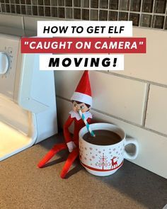 So magical! Kids will LOVE seeing Elf alive in their own home.