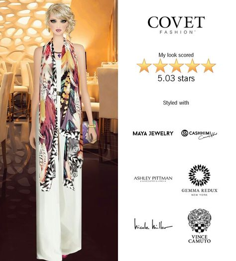 Designer Show After Party Covet Fashion Jet Set Look