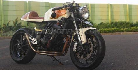 Modifikasi Kawasaki Ninja 300 Bergaya Cafe Racer Modifikasi Motor