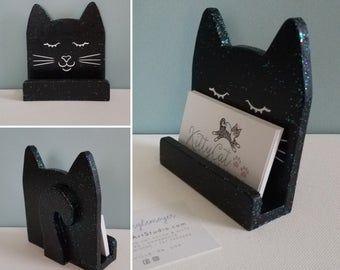 Custom Cat Pen Pencil Holder Cat Desk Accessory Cat Lover Gift Cat Pen Cat Lover Gifts Custom Cat