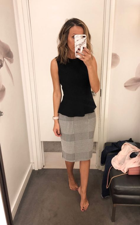 Fitting Room Snapshots - Ann Taylor (wear now, wear later) ~ Lilly Style - Business Attire