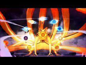 32 Naruto Uzumaki Super Tailed Beast Rasen Shuriken Barrage Youtube Naruto Summoning Naruto Uzumaki Naruto