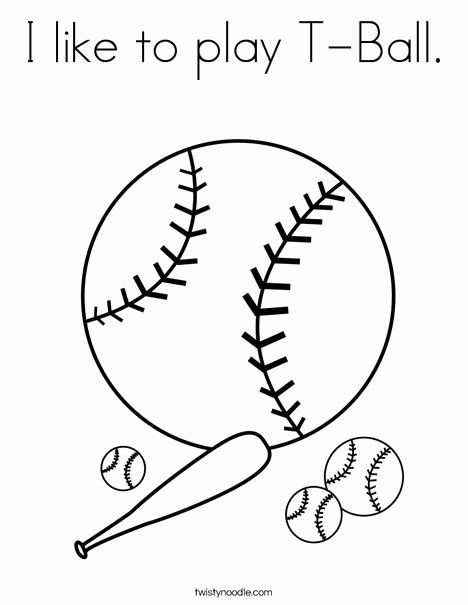 Baseball Color Pages Printable See The Category To Find More