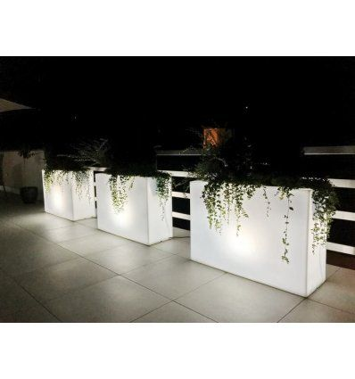 Donica Longerino Podswietlana Work Space Home Plants