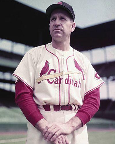 Enos Slaughter St Louis Cardinals Baseball Stl Cardinals Baseball St Louis Cardinals