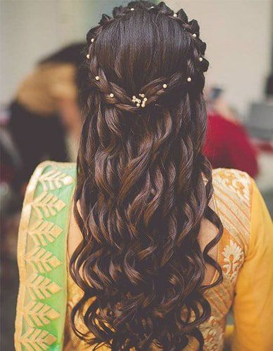 Popular South Indian Bridal Hairstyles For 2019 Wedding Hairstyles For Long Hair Engagement Hairstyles Hair Styles