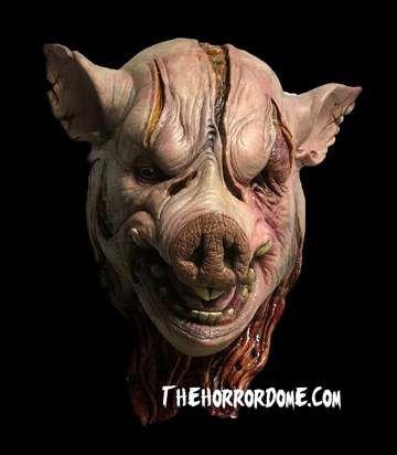 Inbred Mutated Ghoul Girl Mask Pig Head Halloween Masks Pig Mask