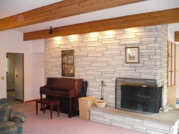Mid Century Modern Fireplaces mid century modern fireplaces | and i thought our fireplace was