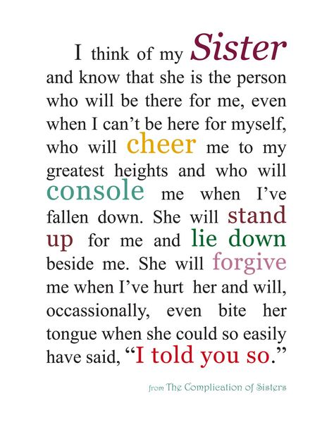 Love my sisters