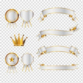 Graphics Banner Drawing Ribbon Flag Transparent Background Png Clipart Png Free Transparent Image In 2021 Gold Banner Clip Art Transparent Background