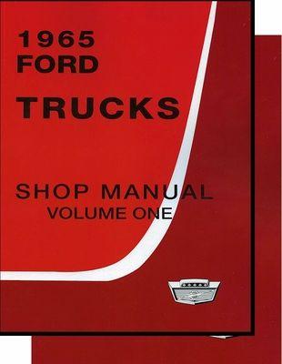 1965 Ford Truck Shop Manual 3 Vol Set Ford Trucks Lifted Trucks Lifted Ford Trucks