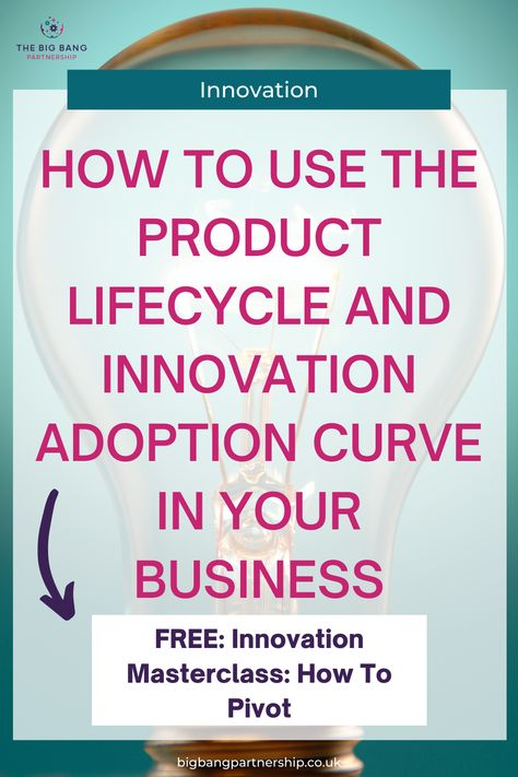 Product Lifecycle And Innovation Adoption Curve - How To Use Them In Your Business