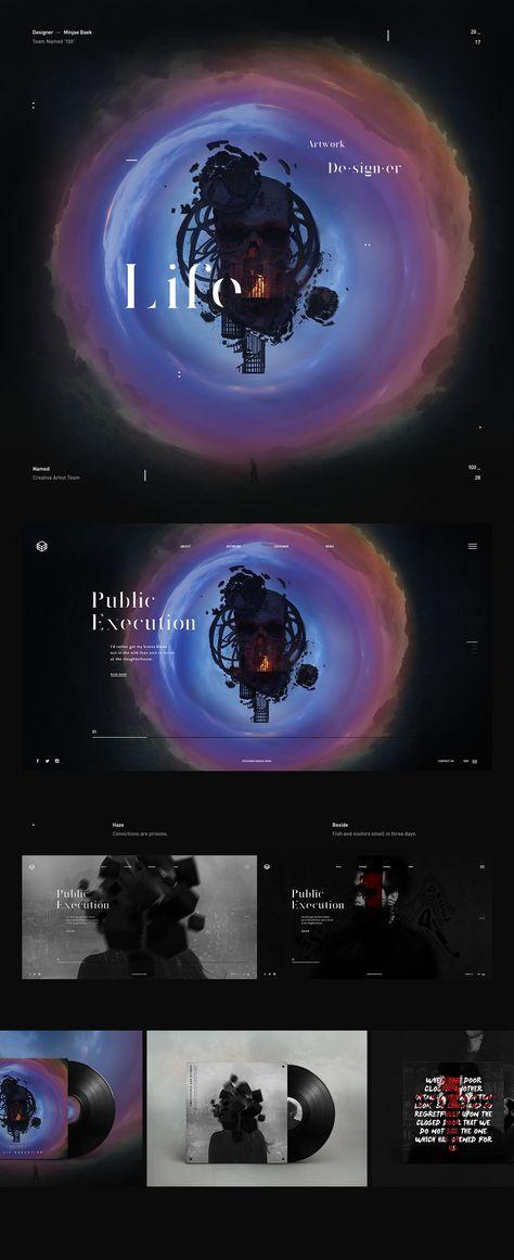 "Web Design & UI/UX: Team ""Named"" Concept"