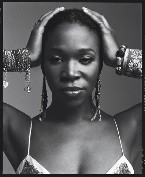 the fact that India Arie sings about herself & dark-skin women makes her beautiful; that she opened for Sade is sealable proof