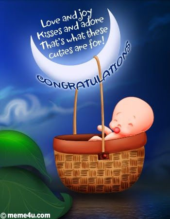 New Born Baby Congratulation Greeting Card 2013 Congratulations