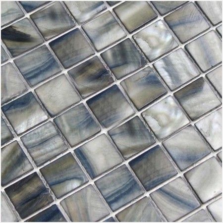Blue Pearl Granite Mosaic Tile Best Products With Images Shell Tiles Pearl Tile Shell Tile Backsplash