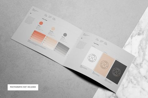 brand manual brand manual corporate brochure and brochures rh pinterest ca brand book indesign template Brand Identity Manual