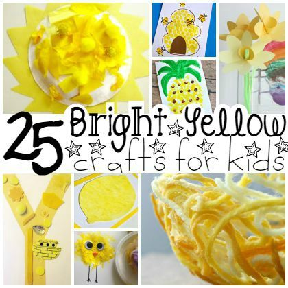 16 Letter Learning Activities For Preschoolers Play Ideas Yellow Crafts Preschool Crafts Color Activities Yellow color ideas for preschool