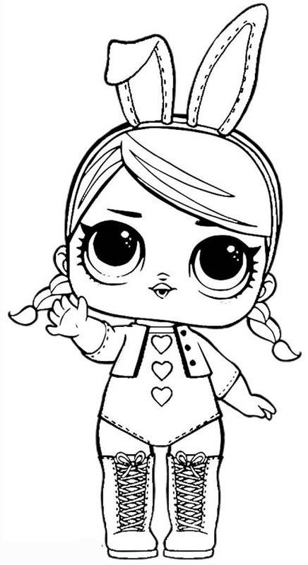 Lol Surprise Coloring Page In 2020 Unicorn Coloring Pages Coloring Pages For Girls Lol Dolls