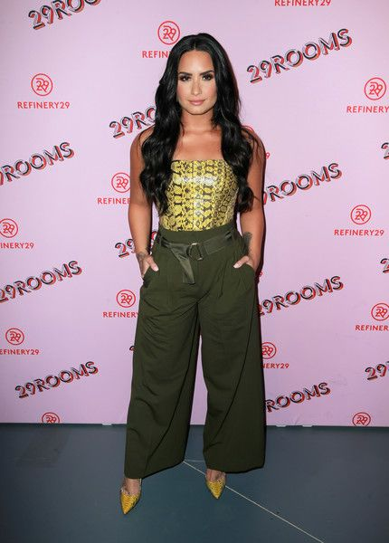 29Rooms Collaborator Demi Lovato attends Refinery29's 29Rooms Los Angeles: Turn It Into Art Opening Night Party.