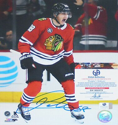 Sponsored Patrick Kane Chicago Blackhawks Certified Signed Autograph Nhl Hockey Photo Patrick Kane Nhl Hockey Sports