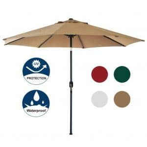 Top 10 Best Offset Patio Umbrellas For Garden Backyard Poolside In 2020 Reviews Hqreview Best Patio Umbrella Offset Patio Umbrella Patio Umbrella