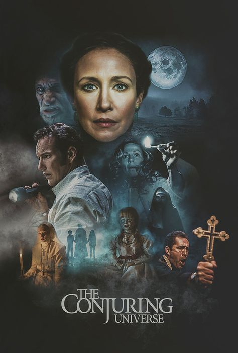 The Conjuring by Colm Geoghegan - Home of the Alternative Movie Poster -AMP-