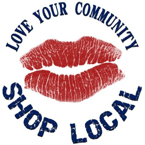 I try to spend all of my money in my community. There are a few things that I purchase online sparatically, but for the most part I try to buy everything in my county. The link below will explain the economic benefits to shopping locally. Support small businesses & local farmers as often as possible! Senegence Lipsense Distributor # 597259, Find me on Facebook at Kaffeinated Kisses
