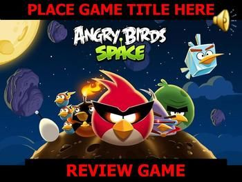 Angry Bird Game Template Powerpoint  Angry Birds Template And