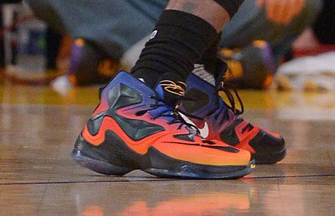 official photos a6618 6b934 LeBron James wore Doernbecher Freestyle patient-designer Kian s Nike  sneakers in his final matchup against Kobe Bryant. Not many 12-year-olds  can say that!