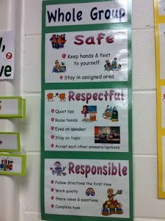 PBIS- I need to do these posters for whole group, seat time, small group, and line.