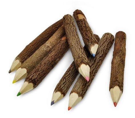 Natural colored pencil. 2013 Faire