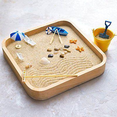Sandboxes Accessories Mini For Desk Miniature Beach Zen Garden Toys Play Kit Mini Zen Garden Zen Garden Zen Garden Design
