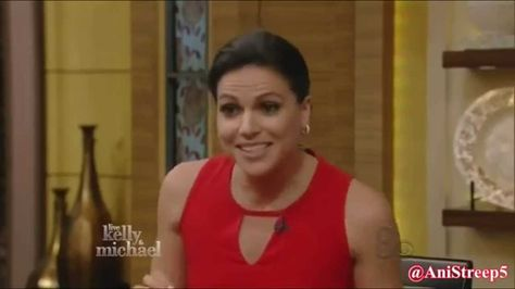 Lana Parrilla's infectious Laugh ツ
