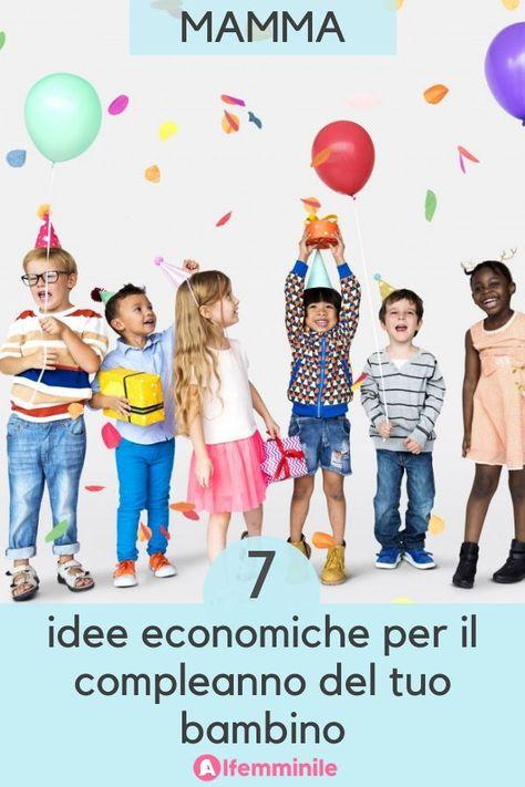Vuoi organizzare una festa di compleanno per tuo figlio ma non hai un grosso budget a disposizione? Non temere! Ai bambini basta davvero poco per divertirsi. Ecco 7 idee vincenti per una festa super per il tuo bambino!