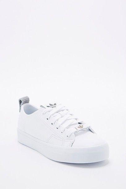 adidas honey 2.0 white sneakers