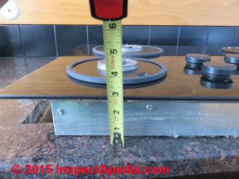 Image Result For How To Install Cooktop On Granite Countertop