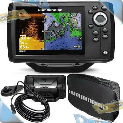 Details About New Humminbird Helix 5 Chirp Di Gps G2 Fishfinder Fish Finder Combo W Nav Cover In 2020 Fun Sports Electronic Products Sports
