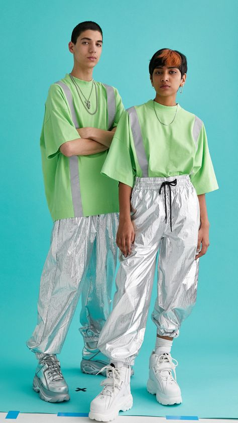 Rave unisex washed t-shirt with reflective tape : Tops : Collusion