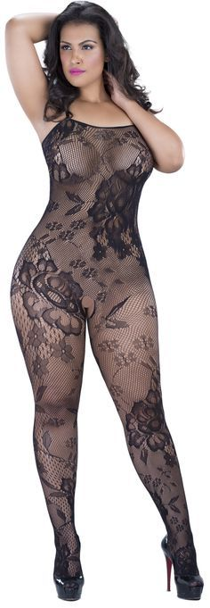 51acf2a18dd 20% off on our  OhLaLaCheri Seamless Lace Pattern  BodyStocking in size  Small - 4X. Hurry--sale ends March 2nd!