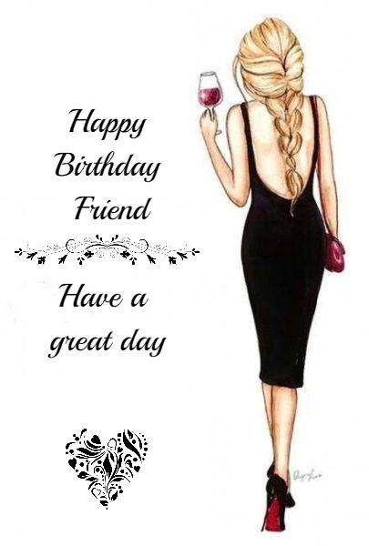 Birthday Ecards For Females Happy Birthday Greetings Friends Happy Birthday Messages Happy Birthday Wishes Cards