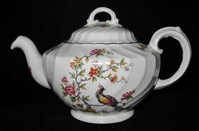 Vintage Crown Staffordshire Porcelain Chinese Pheasant