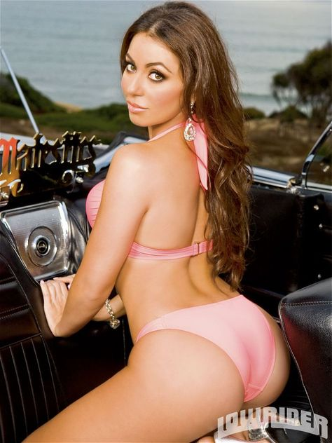 Beautiful Sexy Lowrider Magazine Girls Model Uldouz #lowridermagazine